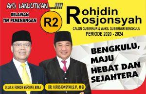 Calon Gubernur dan calon Waķil Gubernur 2020 - 2024 Dari Partai Golkar PDI Perjuangan Dan PKS