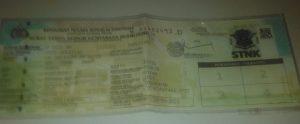 Ass Di Temukan STNK Atas Nama Sti Rukaiya P 6811 AN Desa Grujugan RW00 05 Kec Cerme Supaya menghubungi sy ke No 082338863327 / 082335364545